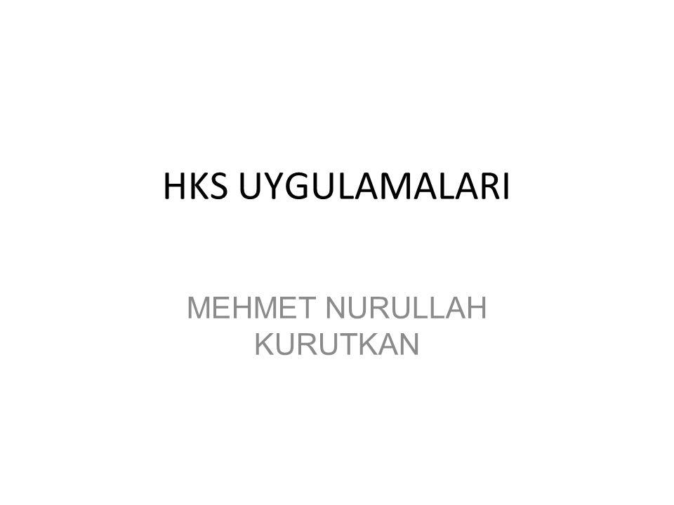 MEHMET NURULLAH KURUTKAN