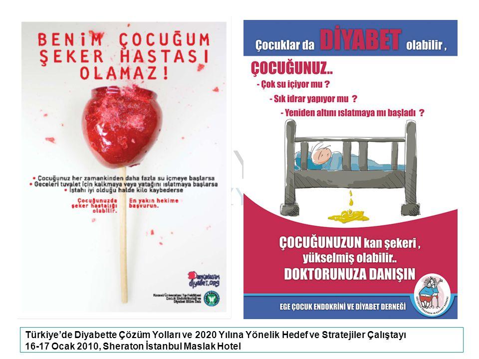 Türkiye'de Diyabette Çözüm Yolları ve 2020 Yılına Yönelik Hedef ve Stratejiler Çalıştayı