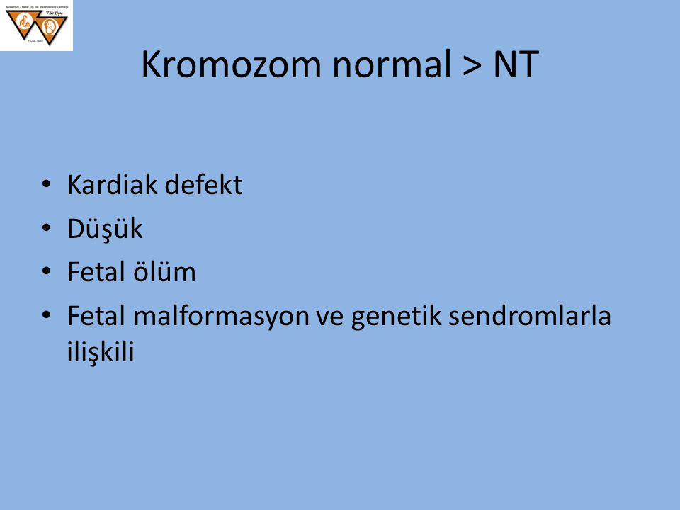Kromozom normal > NT