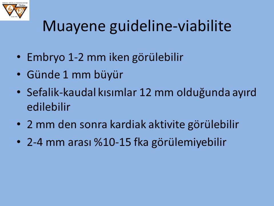 Muayene guideline-viabilite