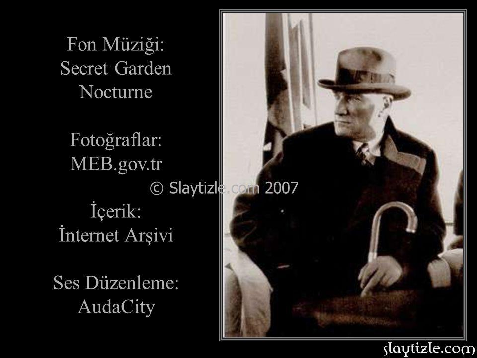 Fon Müziği: Secret Garden Nocturne Fotoğraflar: MEB.gov.tr İçerik: