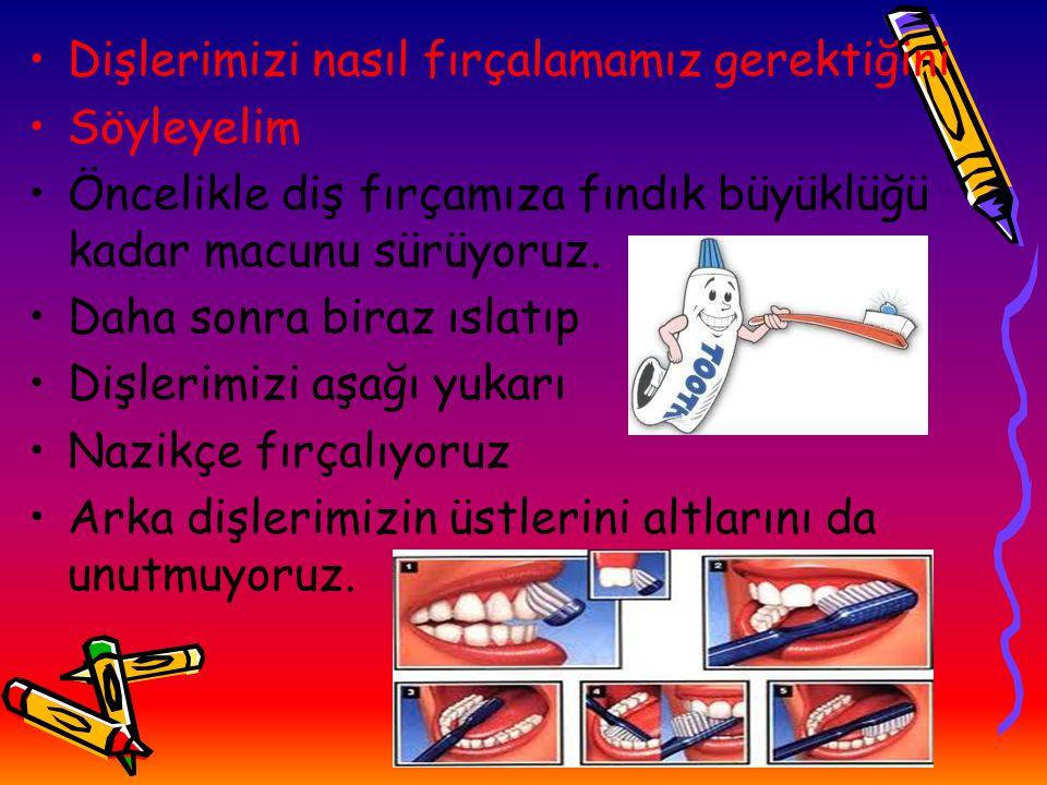 Dişlerimizi nasıl fırçalamamız gerektiğini