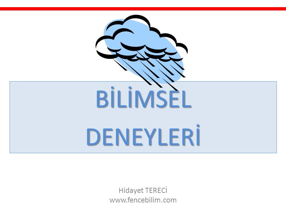 Hidayet TERECİ www.fencebilim.com