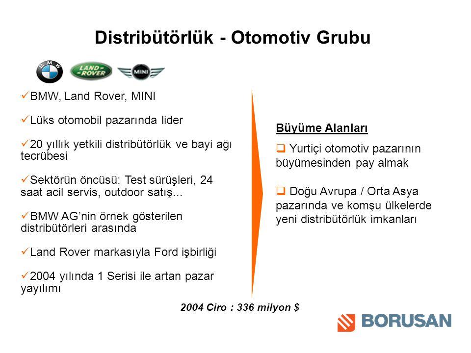 Distribütörlük - Otomotiv Grubu
