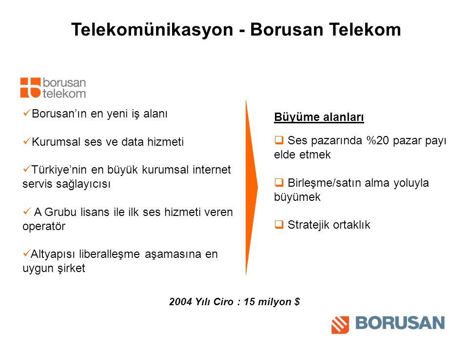 Telekomünikasyon - Borusan Telekom