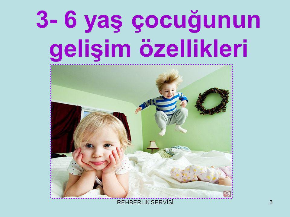 3- 6 yaş çocuğunun gelişim özellikleri