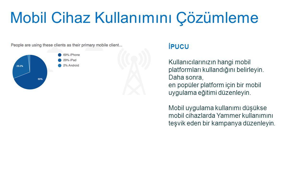Mobil Cihaz Kullanımını Çözümleme