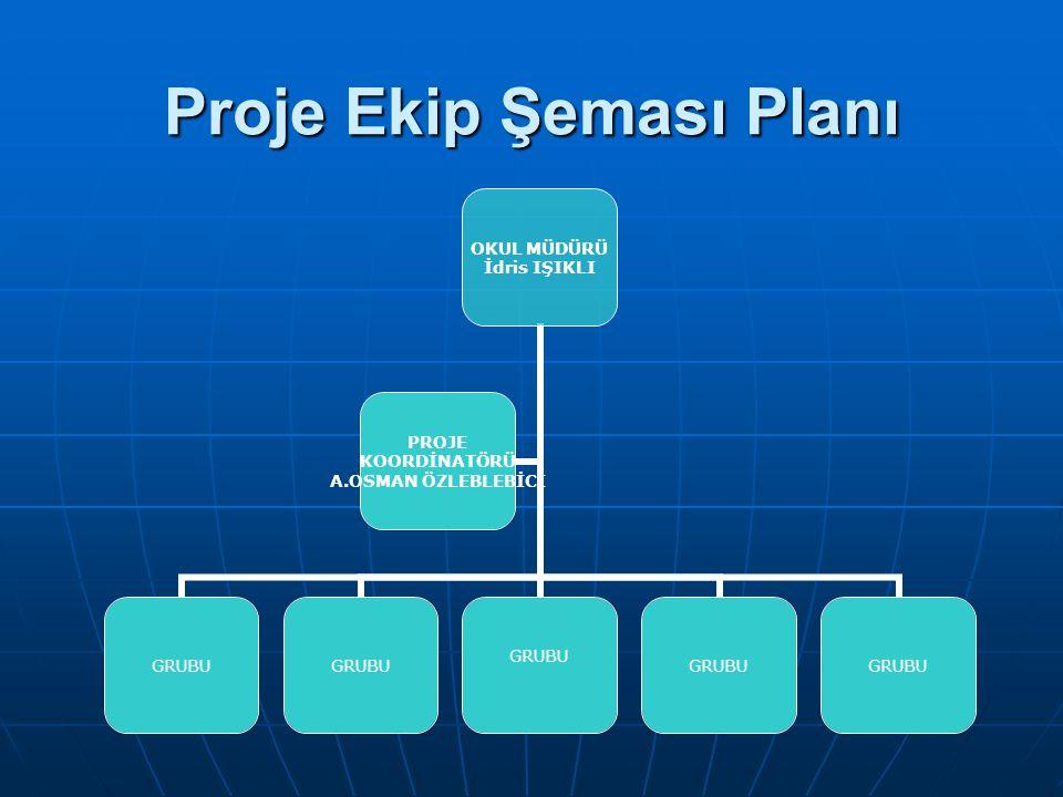 Proje Ekip Şeması Planı
