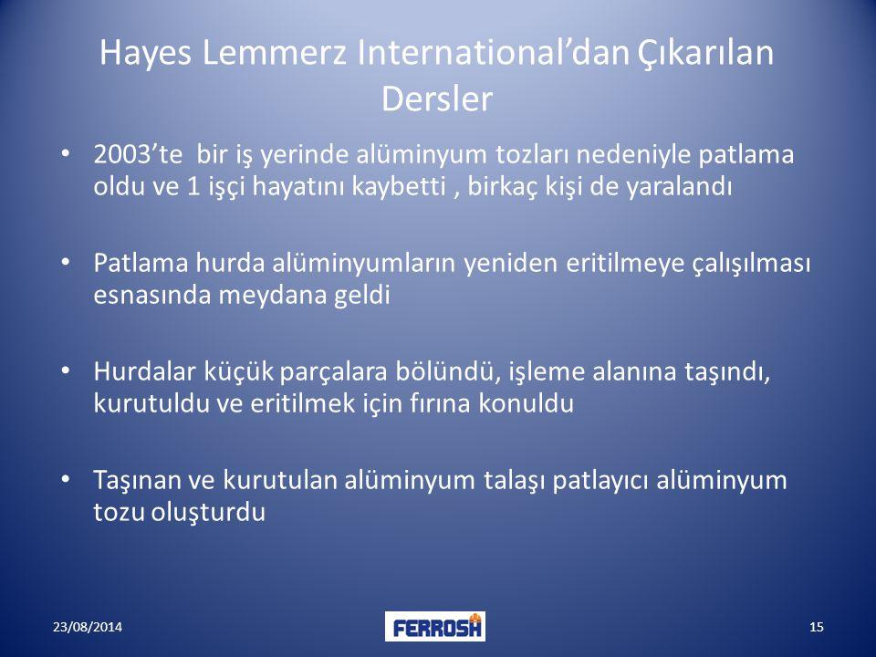 Hayes Lemmerz International'dan Çıkarılan Dersler