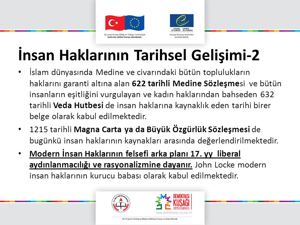 İnsan Haklarının Tarihsel Gelişimi-2
