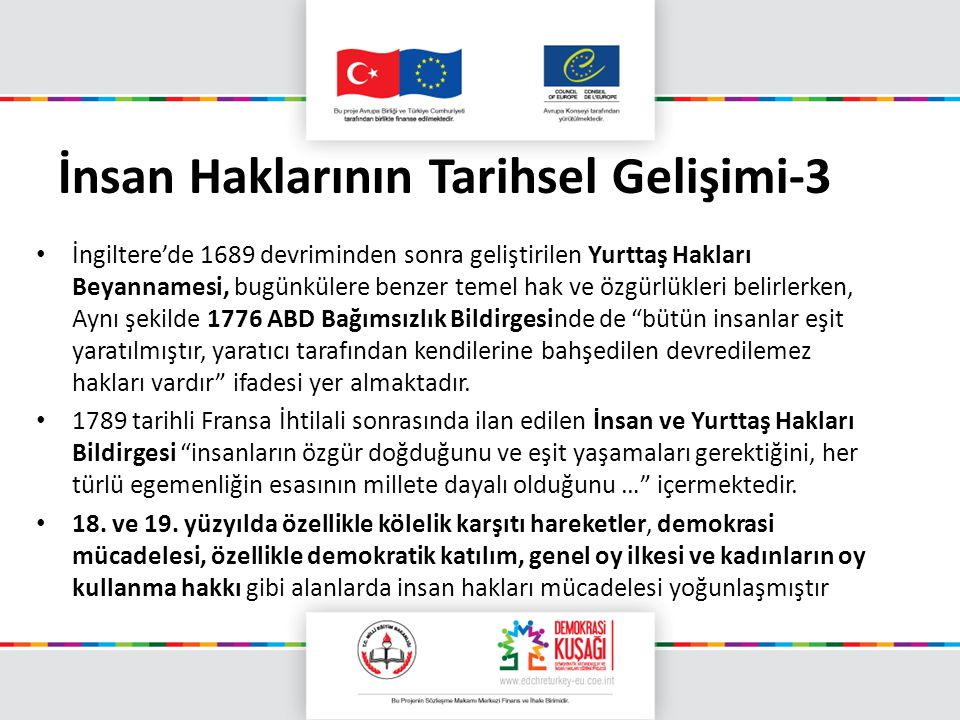 İnsan Haklarının Tarihsel Gelişimi-3