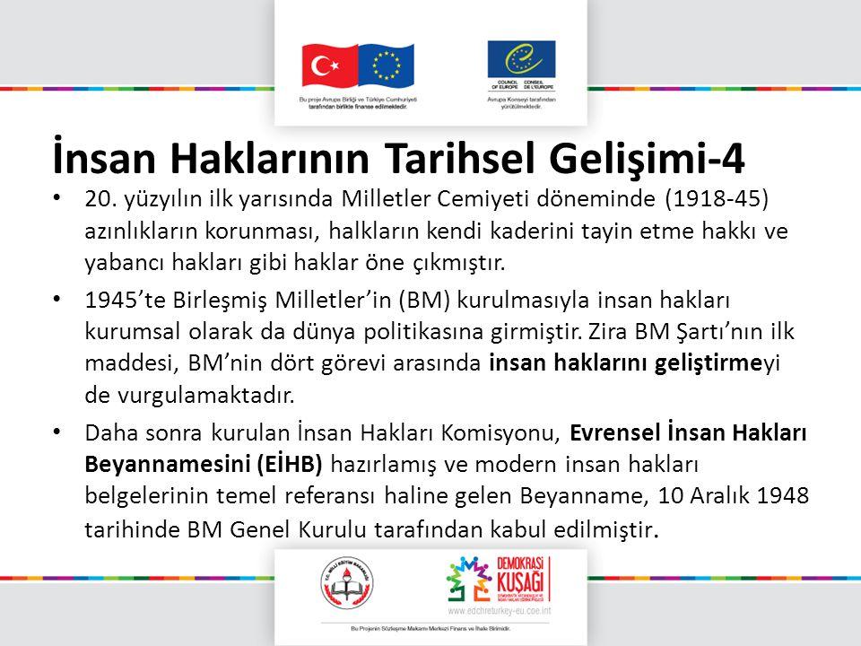 İnsan Haklarının Tarihsel Gelişimi-4