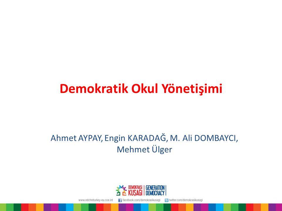 Demokratik Okul Yönetişimi