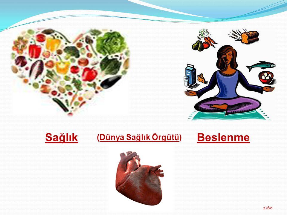 Sağlık Beslenme (Dünya Sağlık Örgütü)