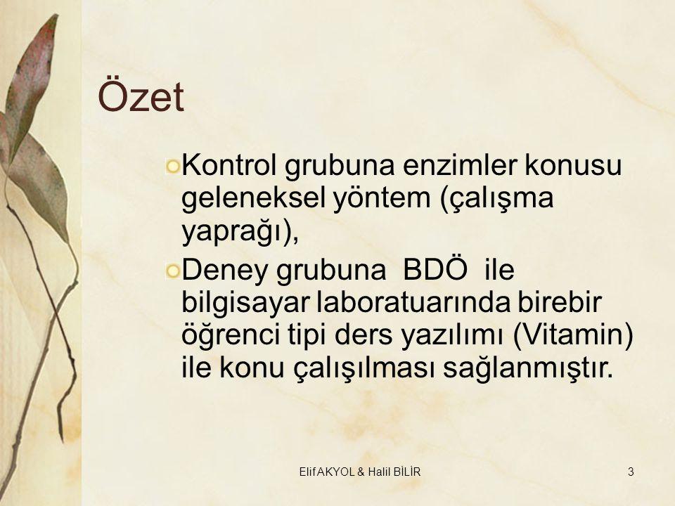 Elif AKYOL & Halil BİLİR