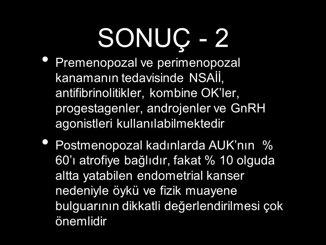 SONUÇ - 2