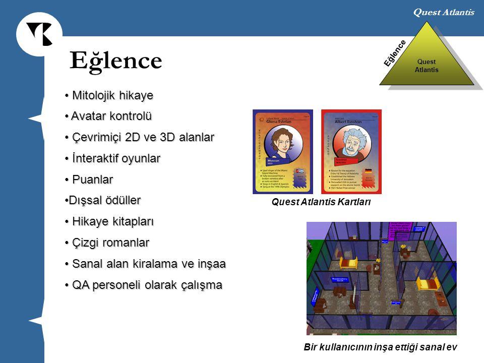 Eğlence Mitolojik hikaye Avatar kontrolü Çevrimiçi 2D ve 3D alanlar