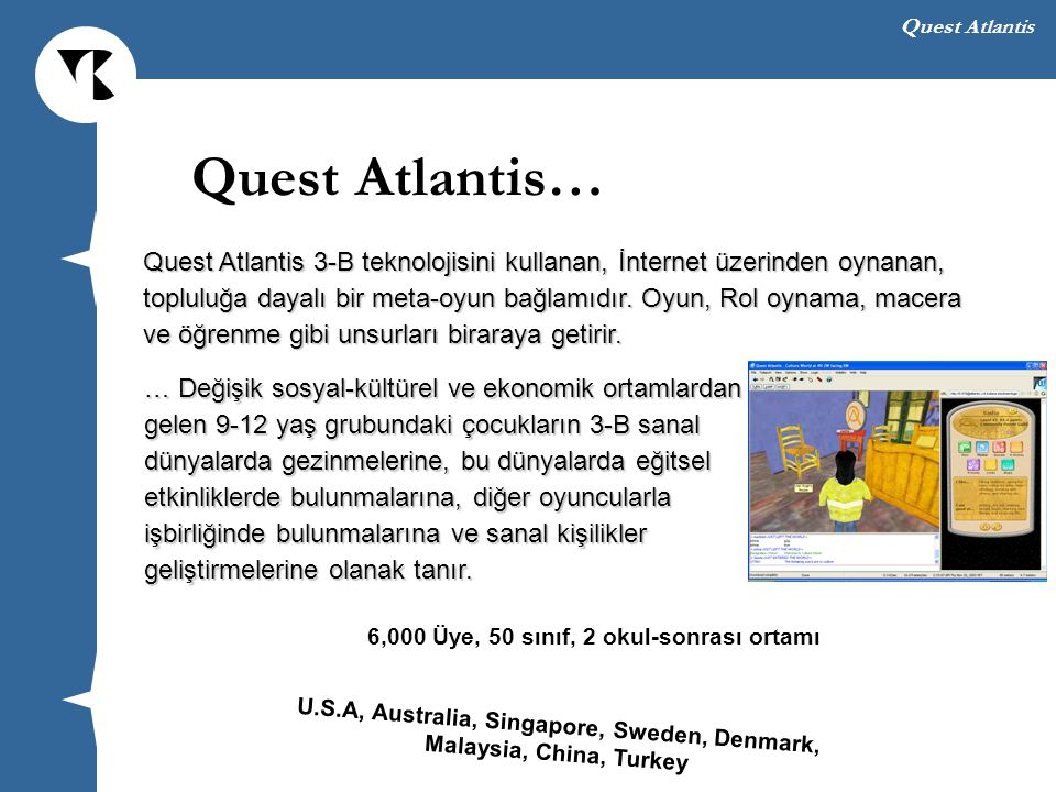 Quest Atlantis…