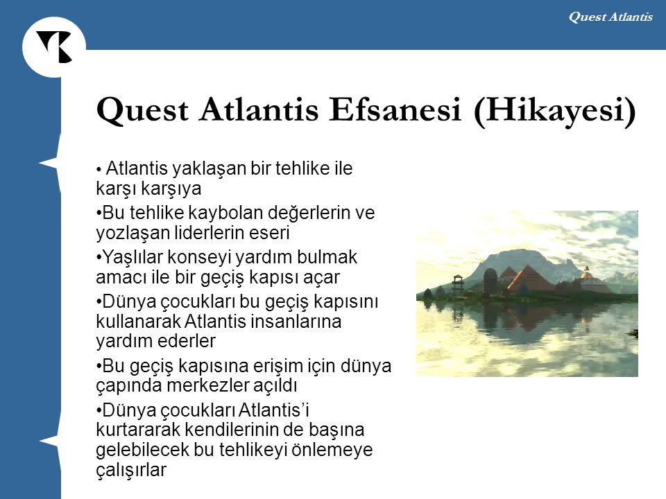 Quest Atlantis Efsanesi (Hikayesi)