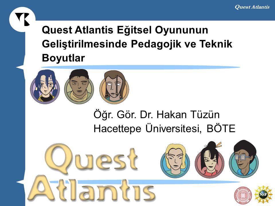Quest Atlantis Eğitsel Oyununun
