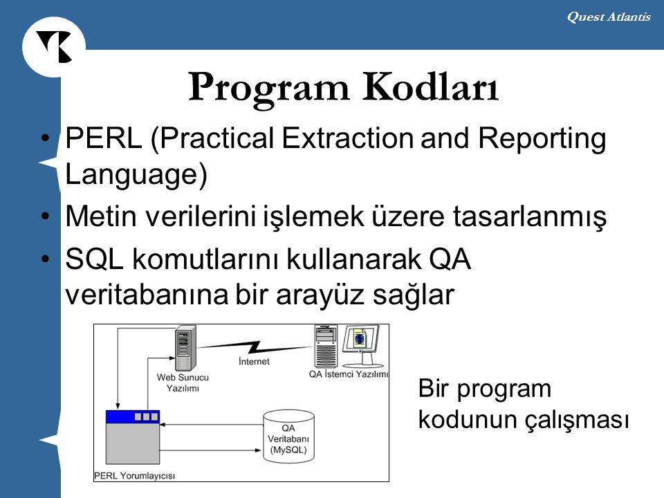 Program Kodları PERL (Practical Extraction and Reporting Language)