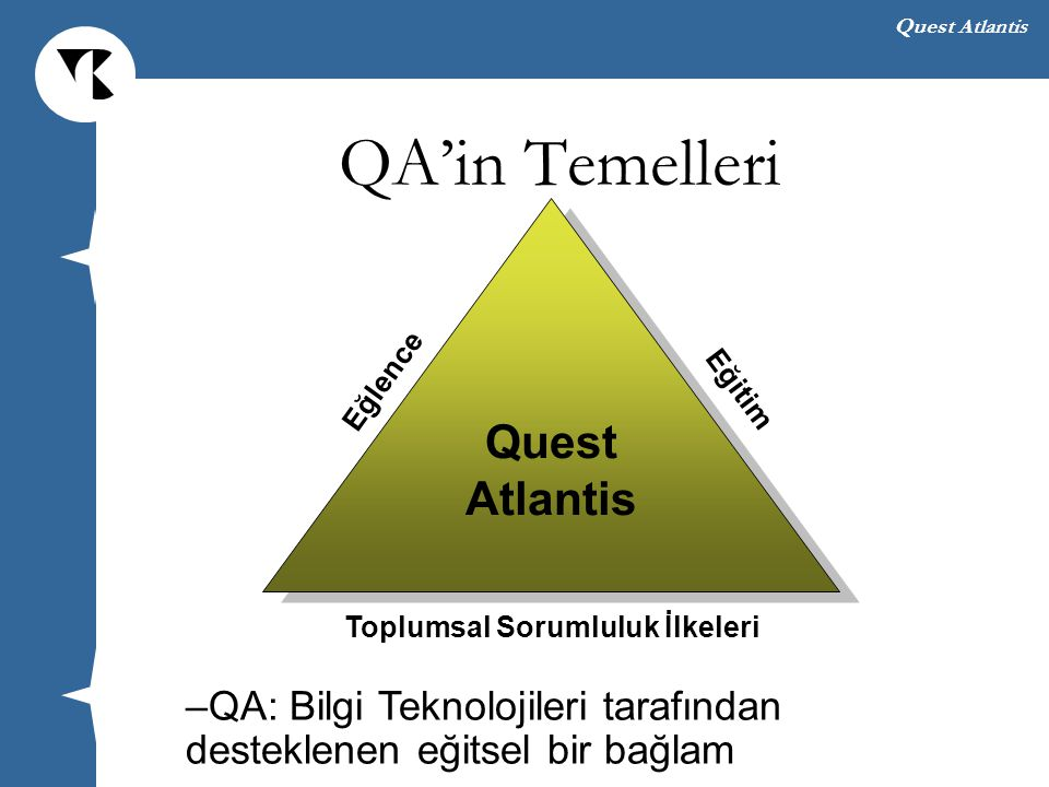 QA'in Temelleri Quest Atlantis