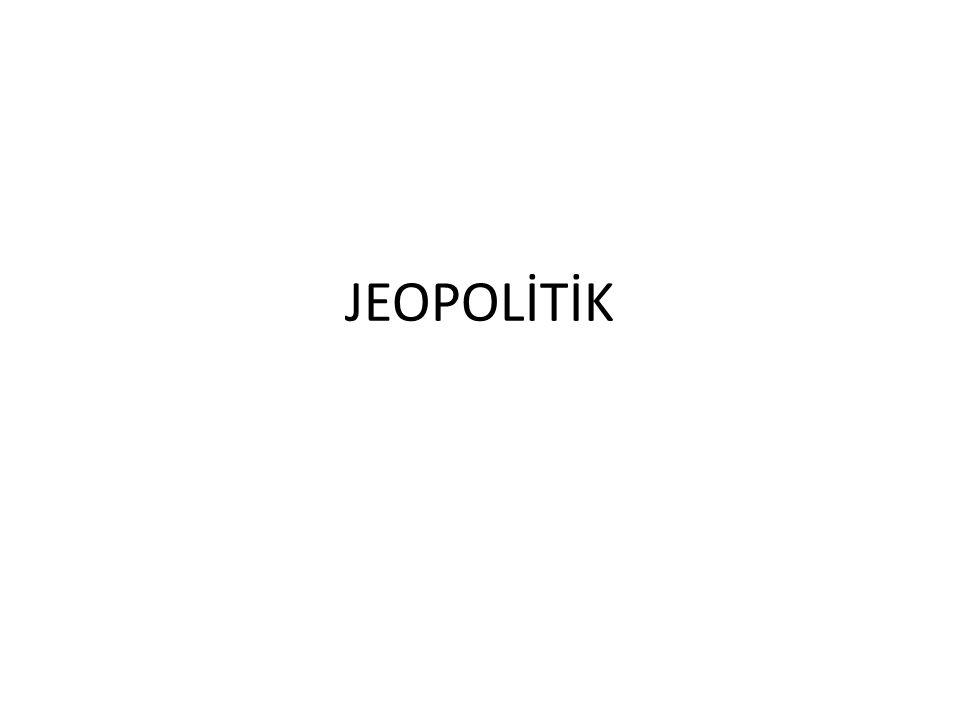 JEOPOLİTİK