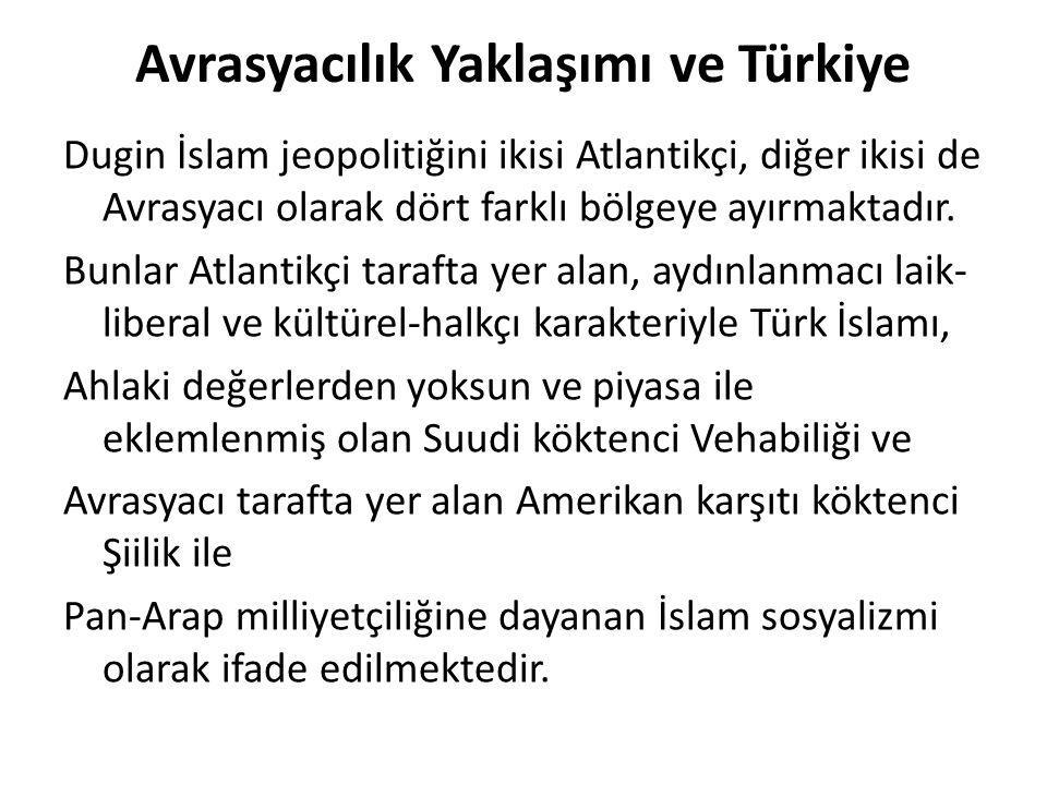Avrasyacılık Yaklaşımı ve Türkiye