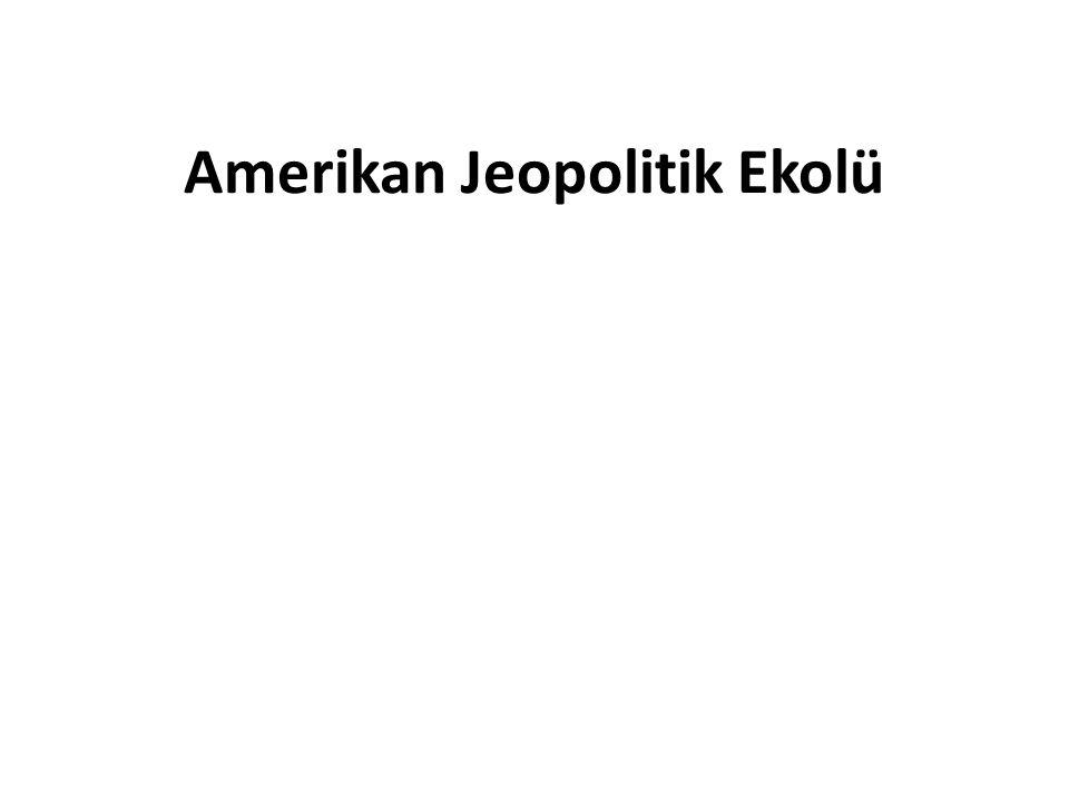 Amerikan Jeopolitik Ekolü