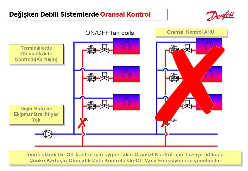 Değişken Debili Sistemlerde Oransal Kontrol