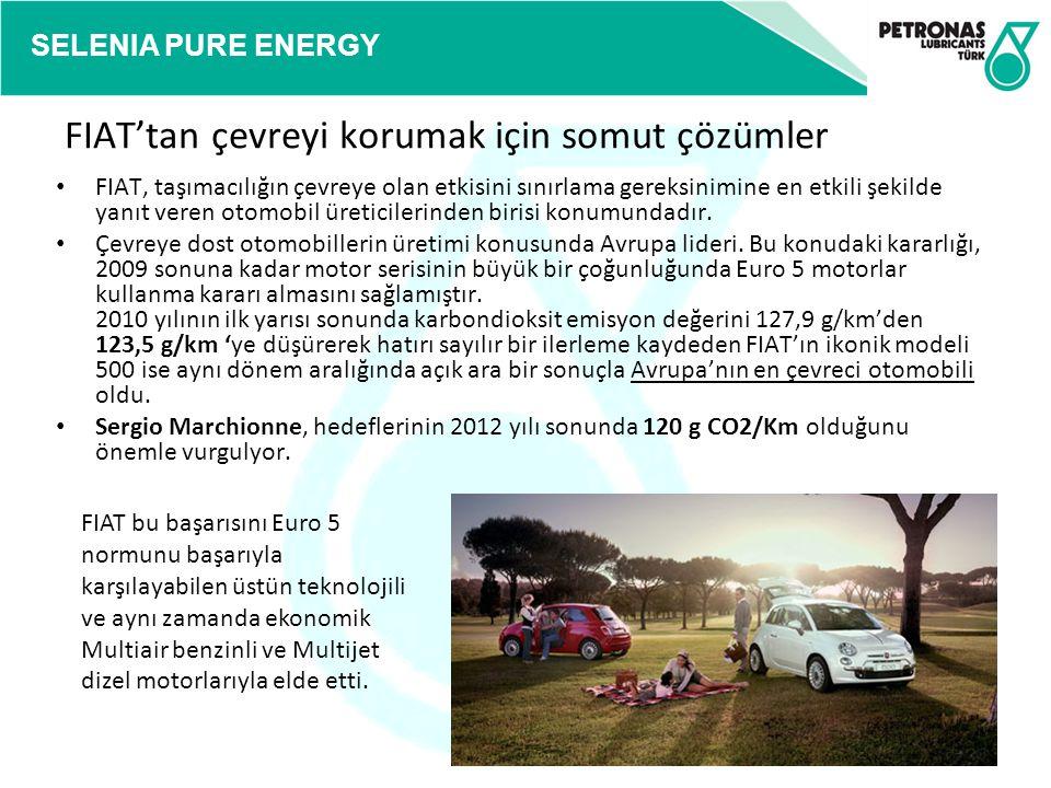 FIAT'tan çevreyi korumak için somut çözümler