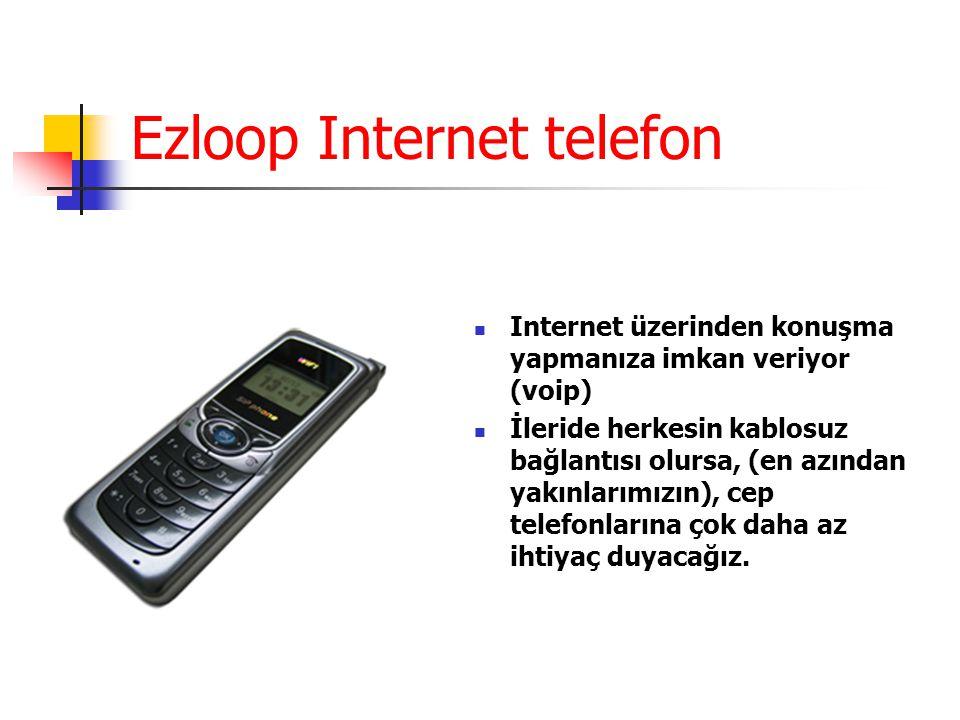 Ezloop Internet telefon