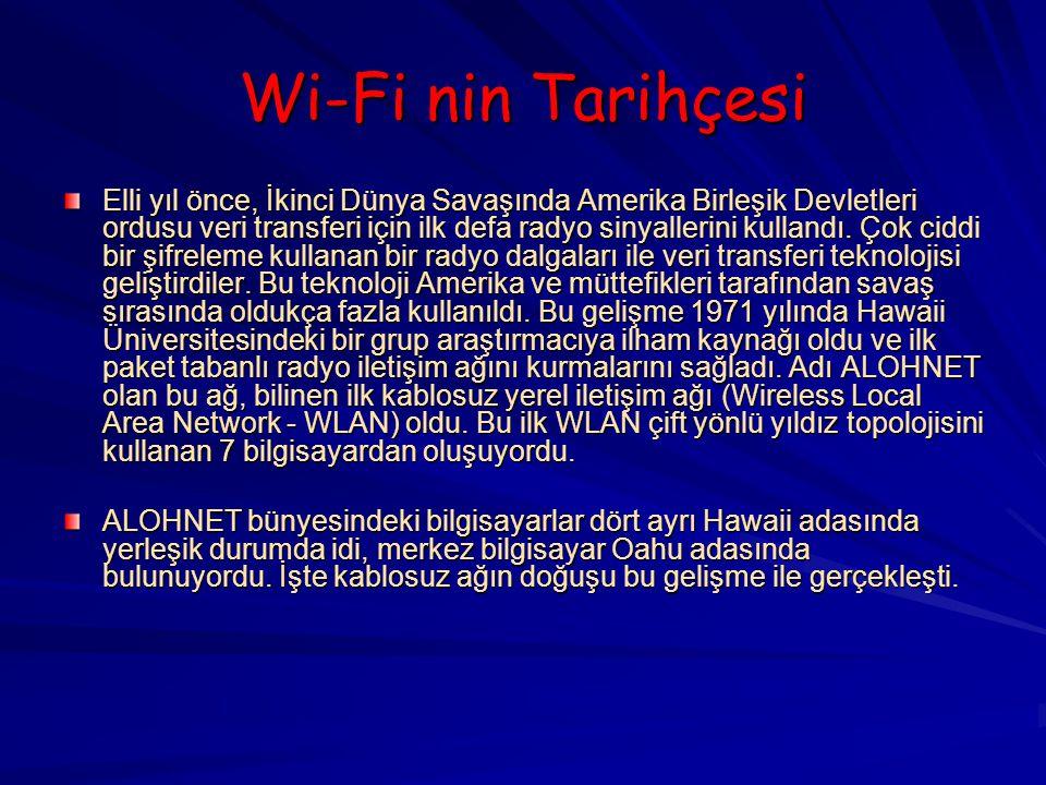 Wi-Fi nin Tarihçesi
