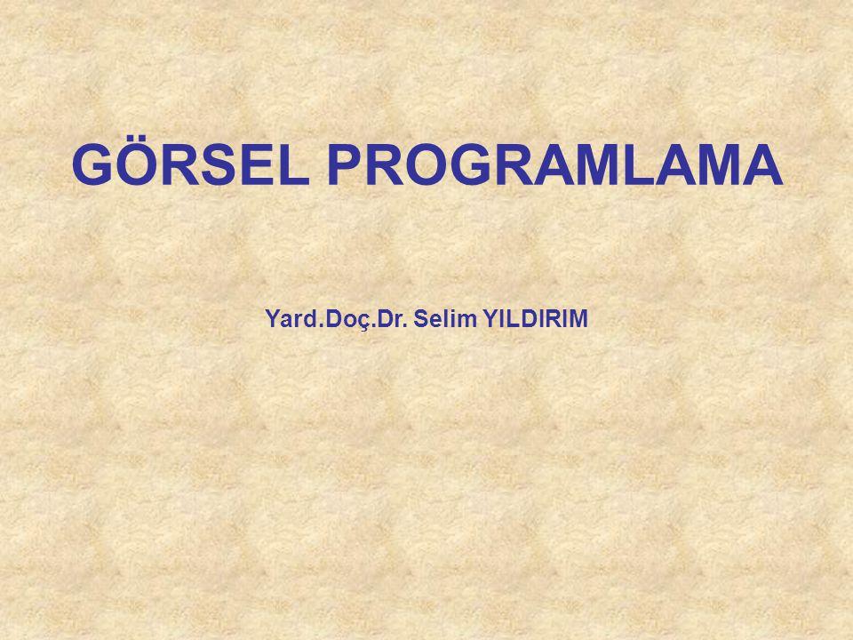 Yard.Doç.Dr. Selim YILDIRIM