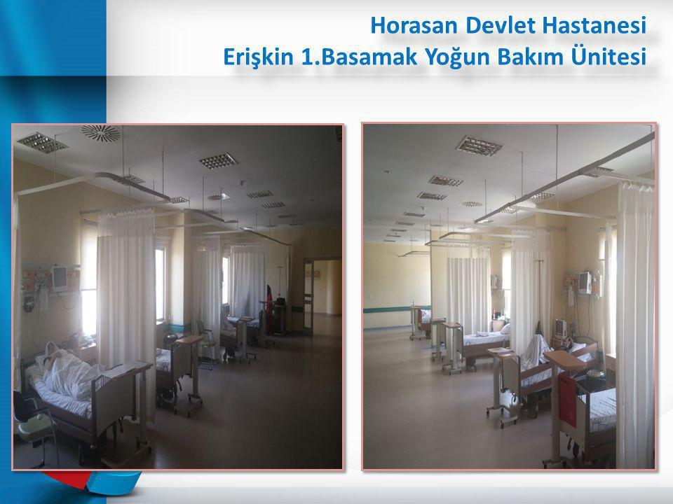 Horasan Devlet Hastanesi Erişkin 1.Basamak Yoğun Bakım Ünitesi