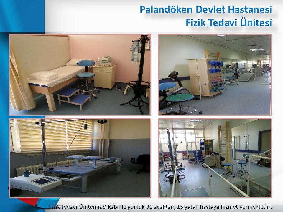 Palandöken Devlet Hastanesi Fizik Tedavi Ünitesi