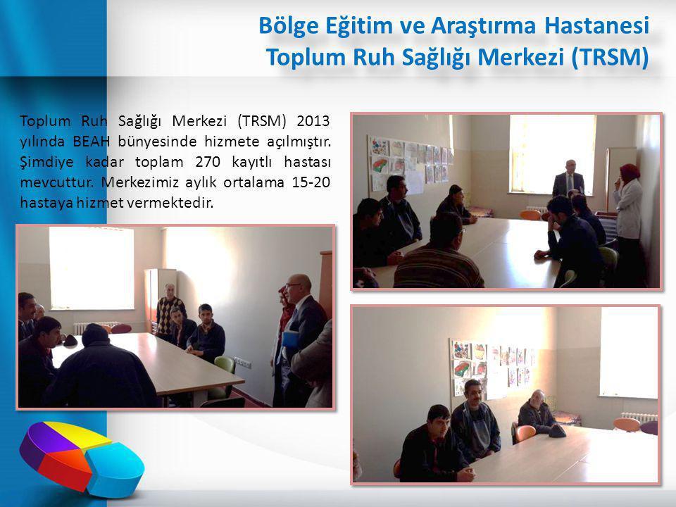 Bölge Eğitim ve Araştırma Hastanesi Toplum Ruh Sağlığı Merkezi (TRSM)
