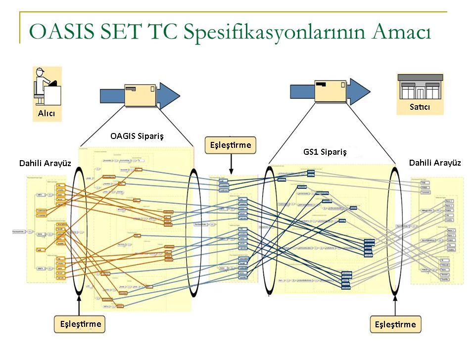 OASIS SET TC Spesifikasyonlarının Amacı