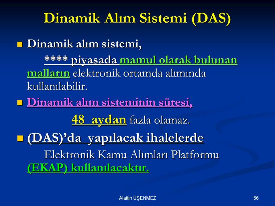 Dinamik Alım Sistemi (DAS)