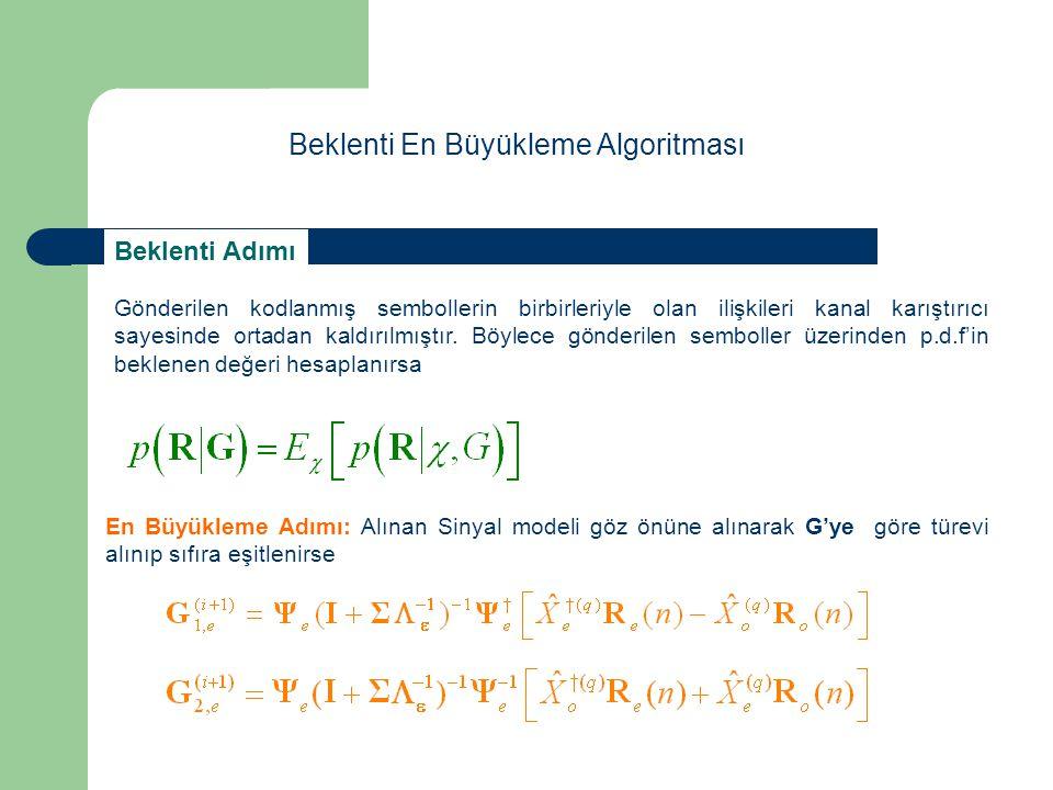 Beklenti En Büyükleme Algoritması