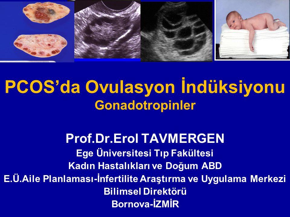 PCOS'da Ovulasyon İndüksiyonu Gonadotropinler