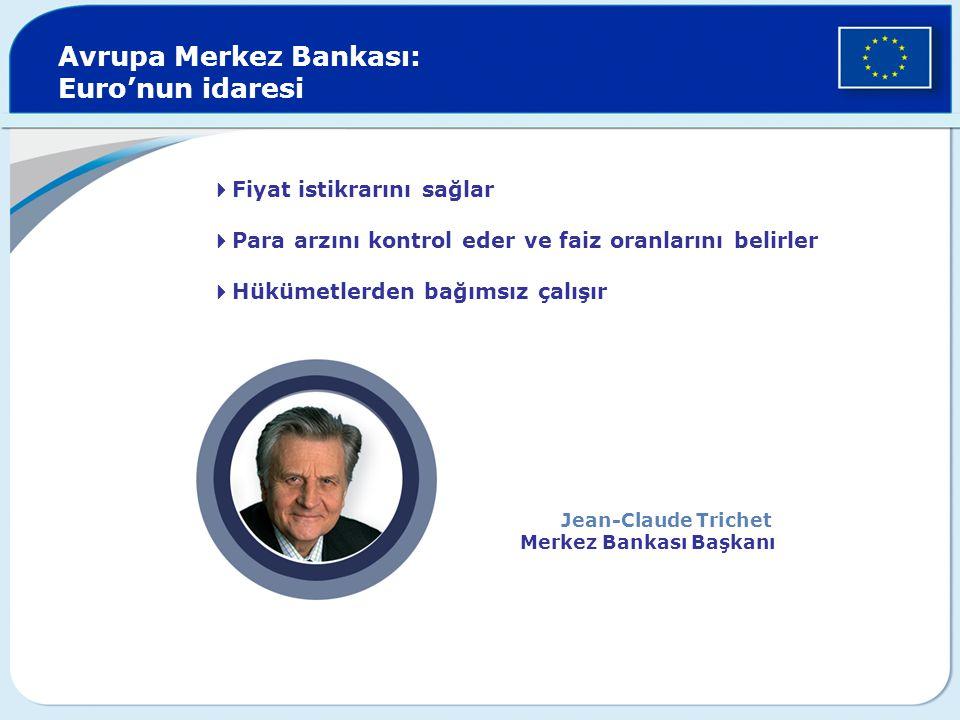 Avrupa Merkez Bankası: Euro'nun idaresi