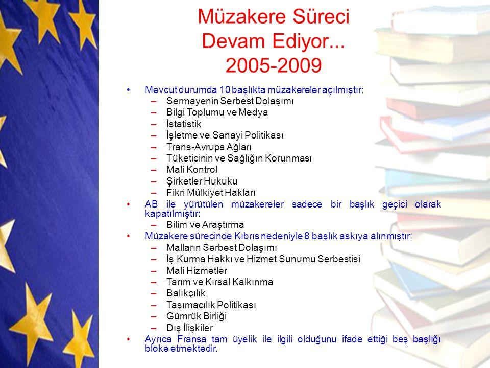 Müzakere Süreci Devam Ediyor... 2005-2009