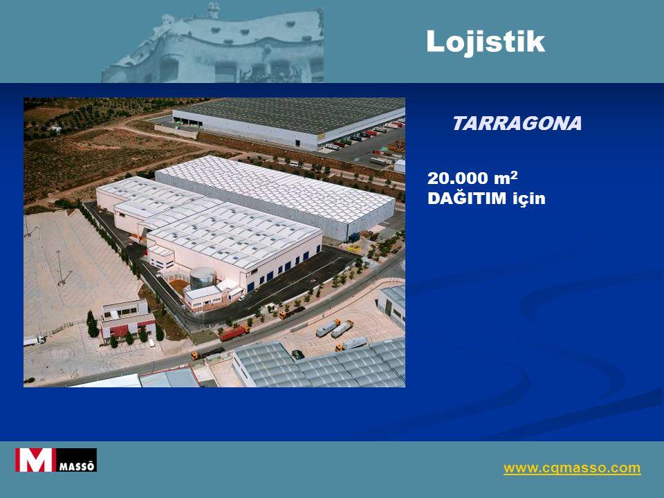 Lojistik TARRAGONA 20.000 m2 DAĞITIM için www.cqmasso.com