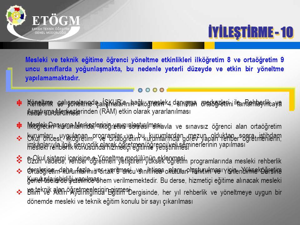 İYİLEŞTİRME - 10