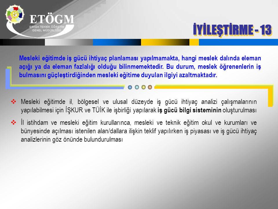İYİLEŞTİRME - 13