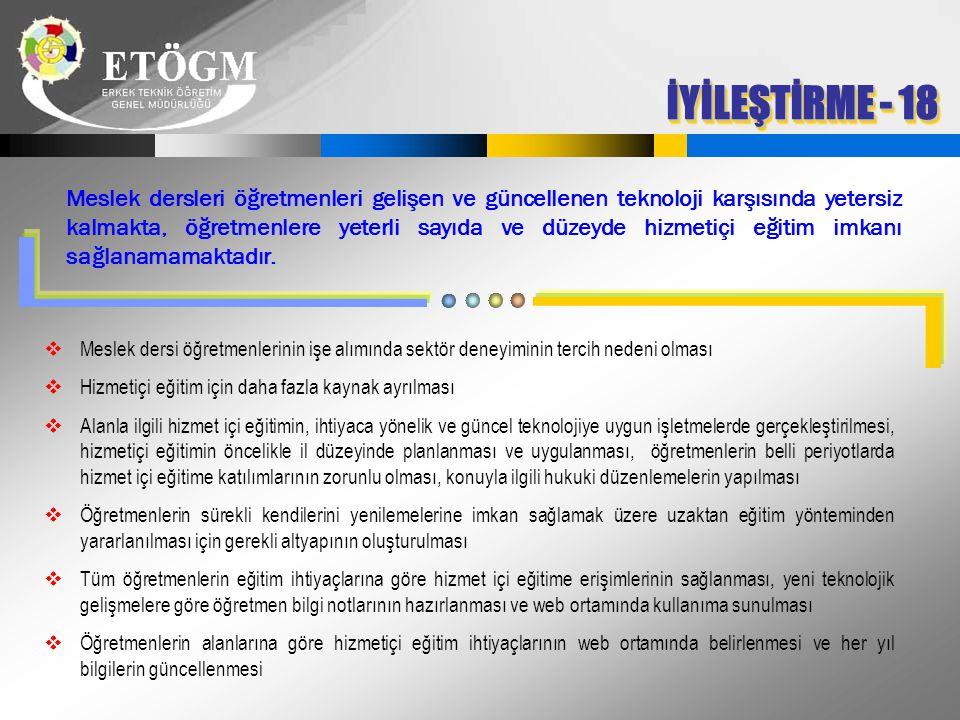 İYİLEŞTİRME - 18