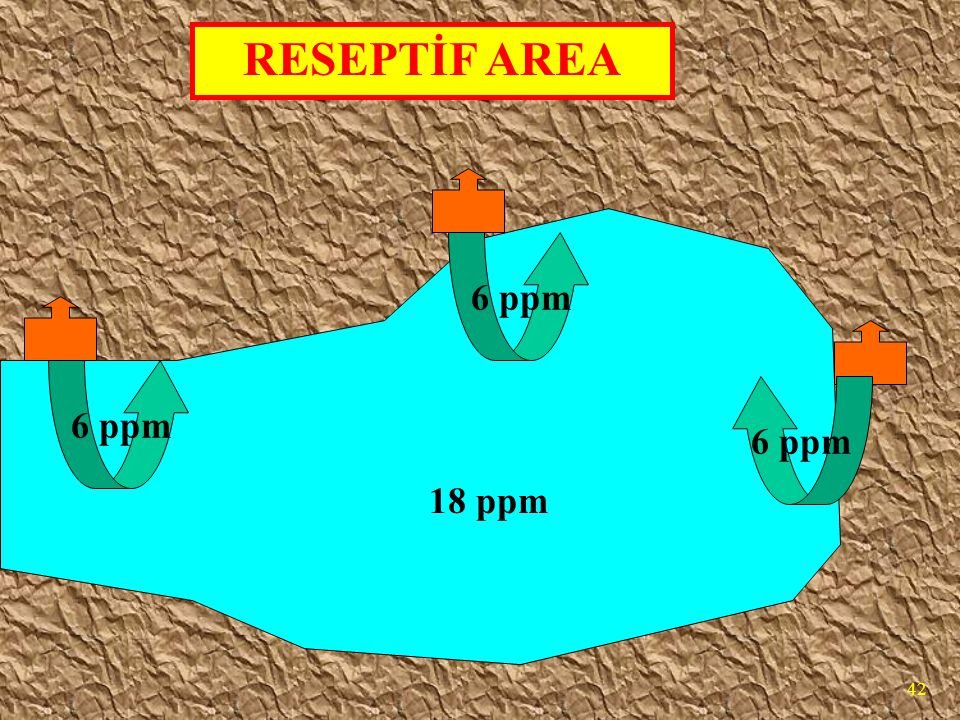 RESEPTİF AREA 6 ppm 6 ppm 6 ppm 18 ppm