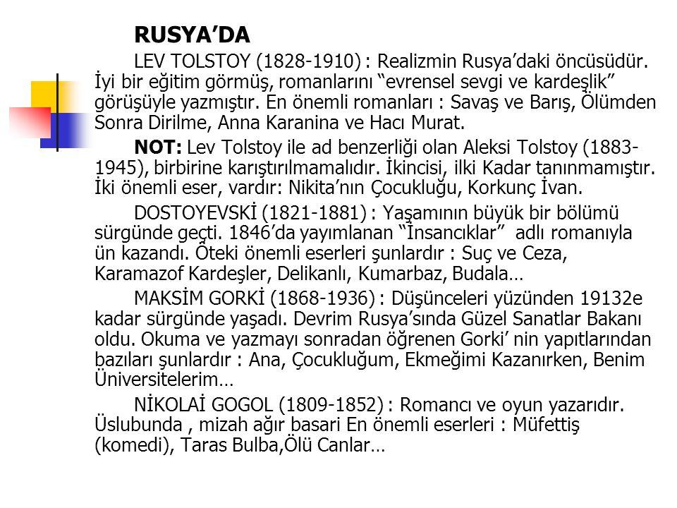 RUSYA'DA