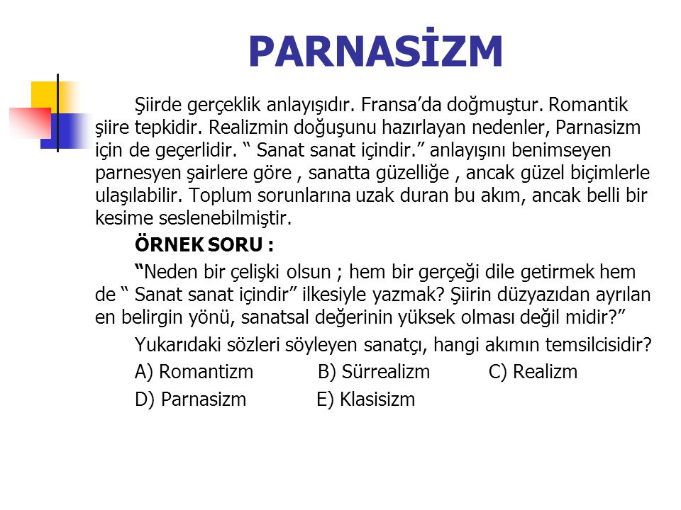 PARNASİZM